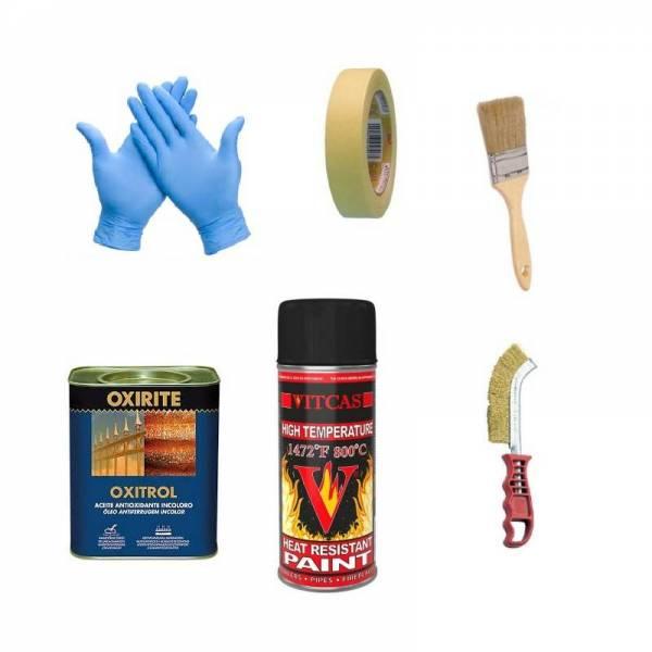 kit mantenimiento puertas para hornos