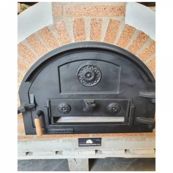puerta hornos de leña hornilla