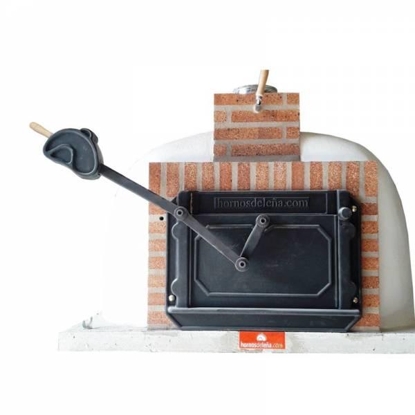 puerta para horno de leña con guillotina