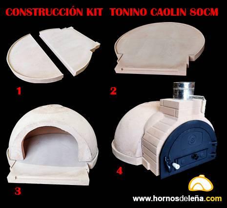 kit construcción horno de leña