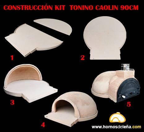 kit de construcción horno de leña
