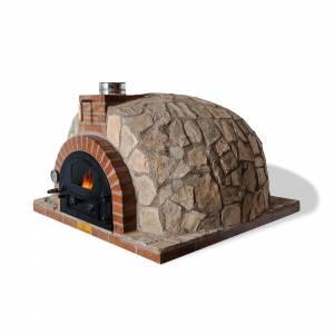 horno de leña de piedra